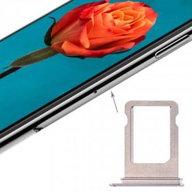 Apple iPhone SIM DOOR CARD SLOT X SILVER TRAY CART SLED PARTS