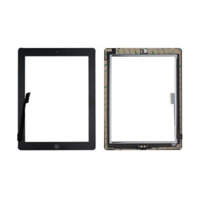 TOUCH SCREEN per Apple iPad 3 Nero A1430 A1416 A1403 WiFi 3G VETRO Tasto Home