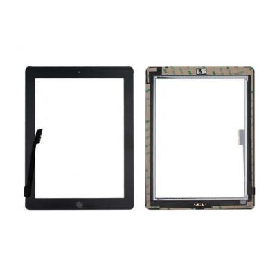 Pantalla Táctil Para Apple Ipad 3 Negro A1430 A1416 A1403 Wifi 3G + Botón De Inicio