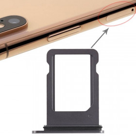 PORT Apple iPhone SIM CARD SLOT XS BLACK SHOE TROLLEY TRAY REPLACEMENT