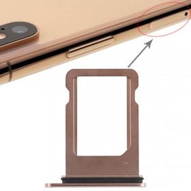 PORT Apple iPhone SIM CARD SLOT XS GOLD SLIDE CHARIOT REMPLACEMENT DE PLATEAU