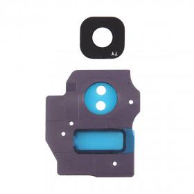 Lente vetrino fotocamera Camera Frame cornice Grey Samsung Galaxy S8+ G955F