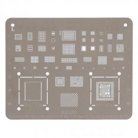 Teléfono móvil de la reanudación iPhone X - Plus 8-8 reparación BGA Plantillas