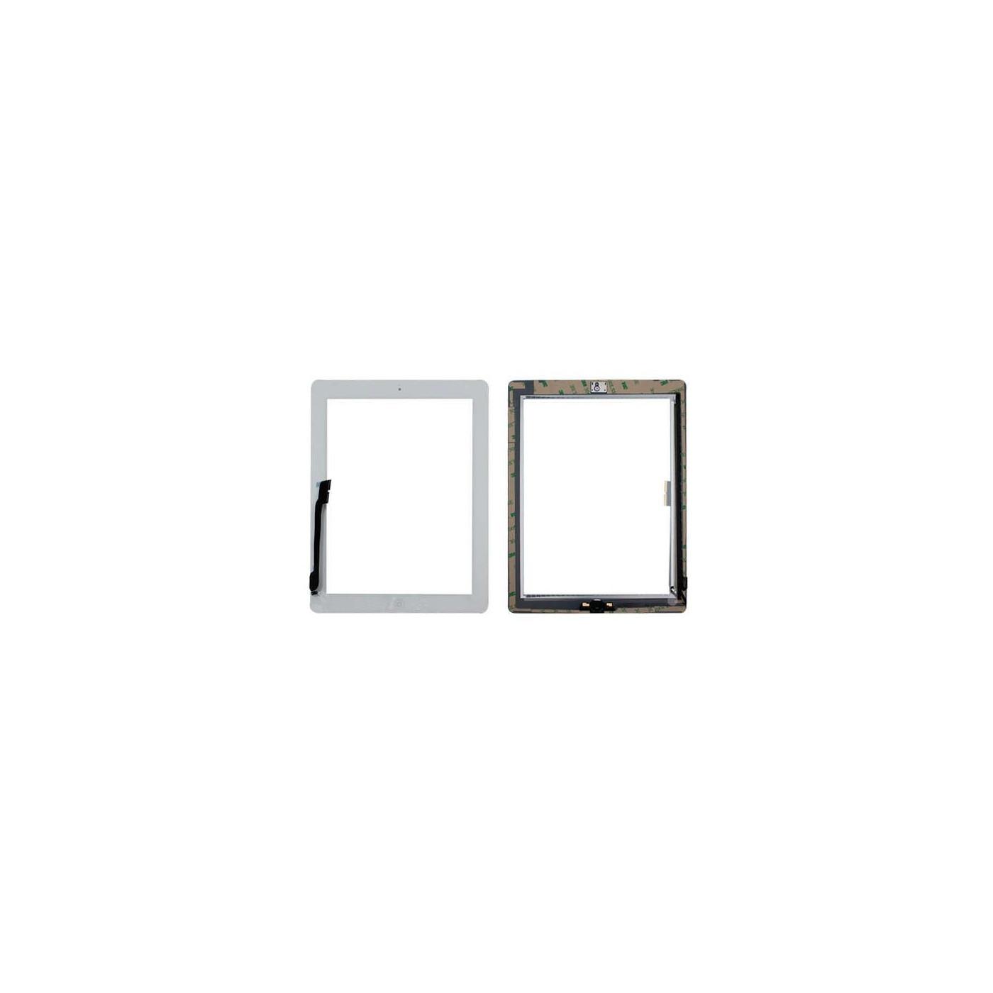 PANTALLA TÁCTIL Apple iPad 4 blanco A1458 A1459 A1460 WiFi y 3G GLASS + tecla de inicio