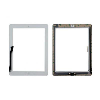 Touch Screen Per Apple Ipad 4 Bianco A1458 A1459 A1460 Wifi E 3G Vetro + Tasto Home