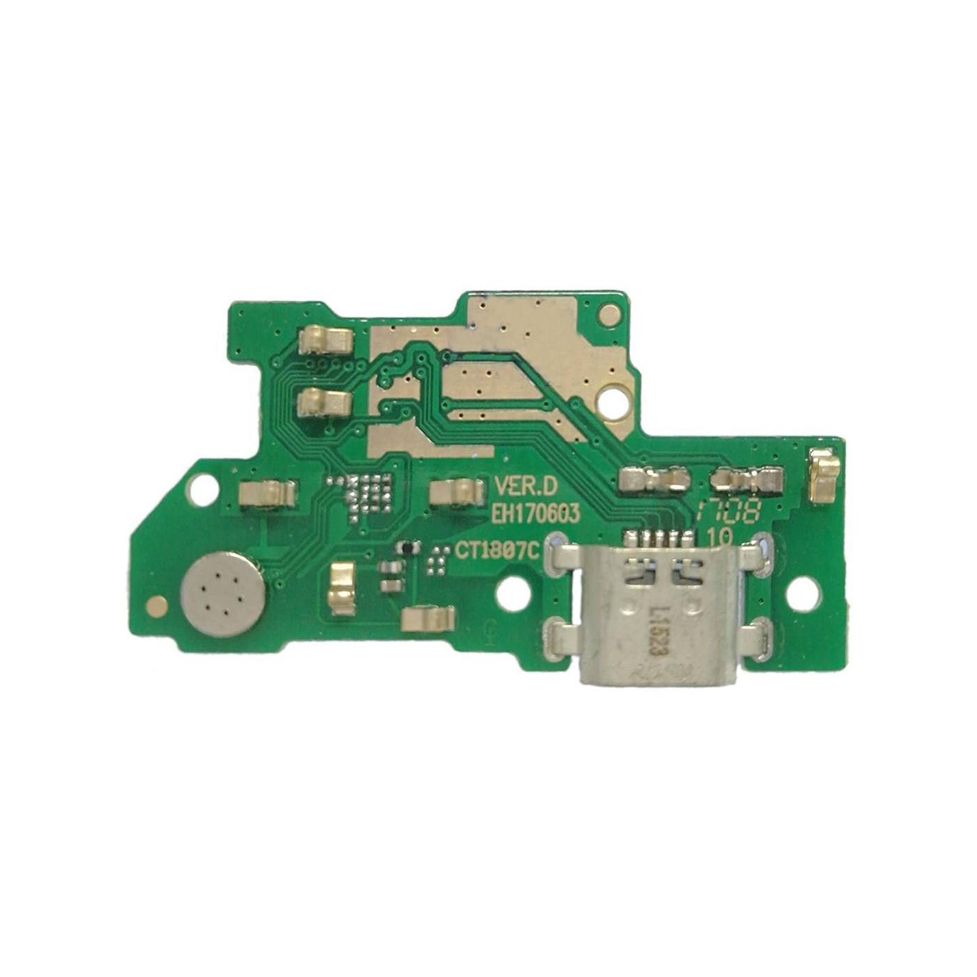Flat flex charging connector for Huawei Y7
