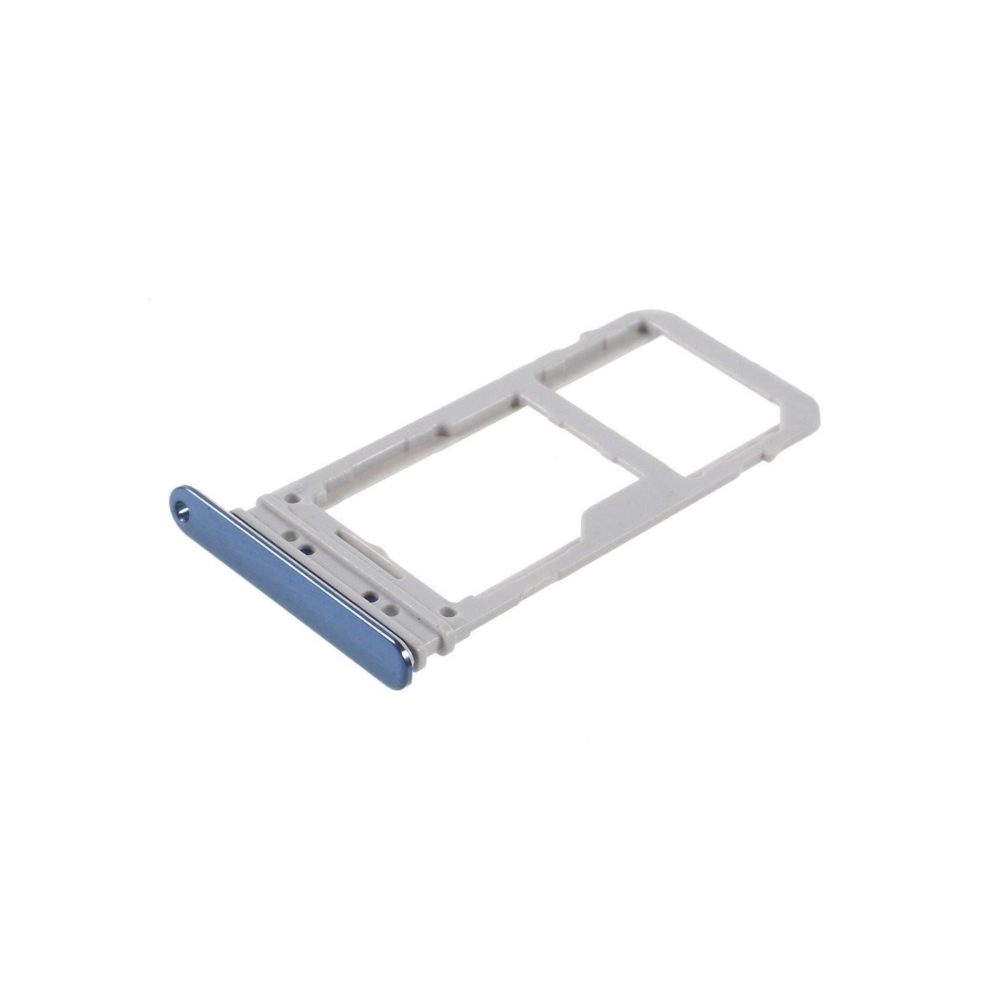 Soporte para SIM para Samsung Note 8 N950F Blue Slot Sled