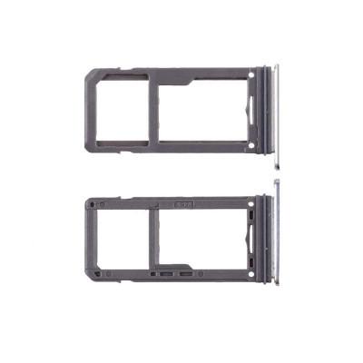 PORTA SIM per Samsung Galaxy S8 - S8 Plus Silver SLOT SLITTA CARRELLO