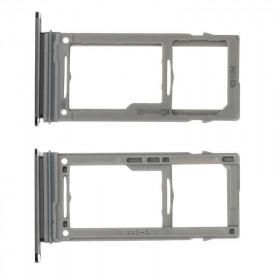 Porta SIM Galaxy S9 G960F - S9 Plus G965F Nero Slot Slitta Carrello