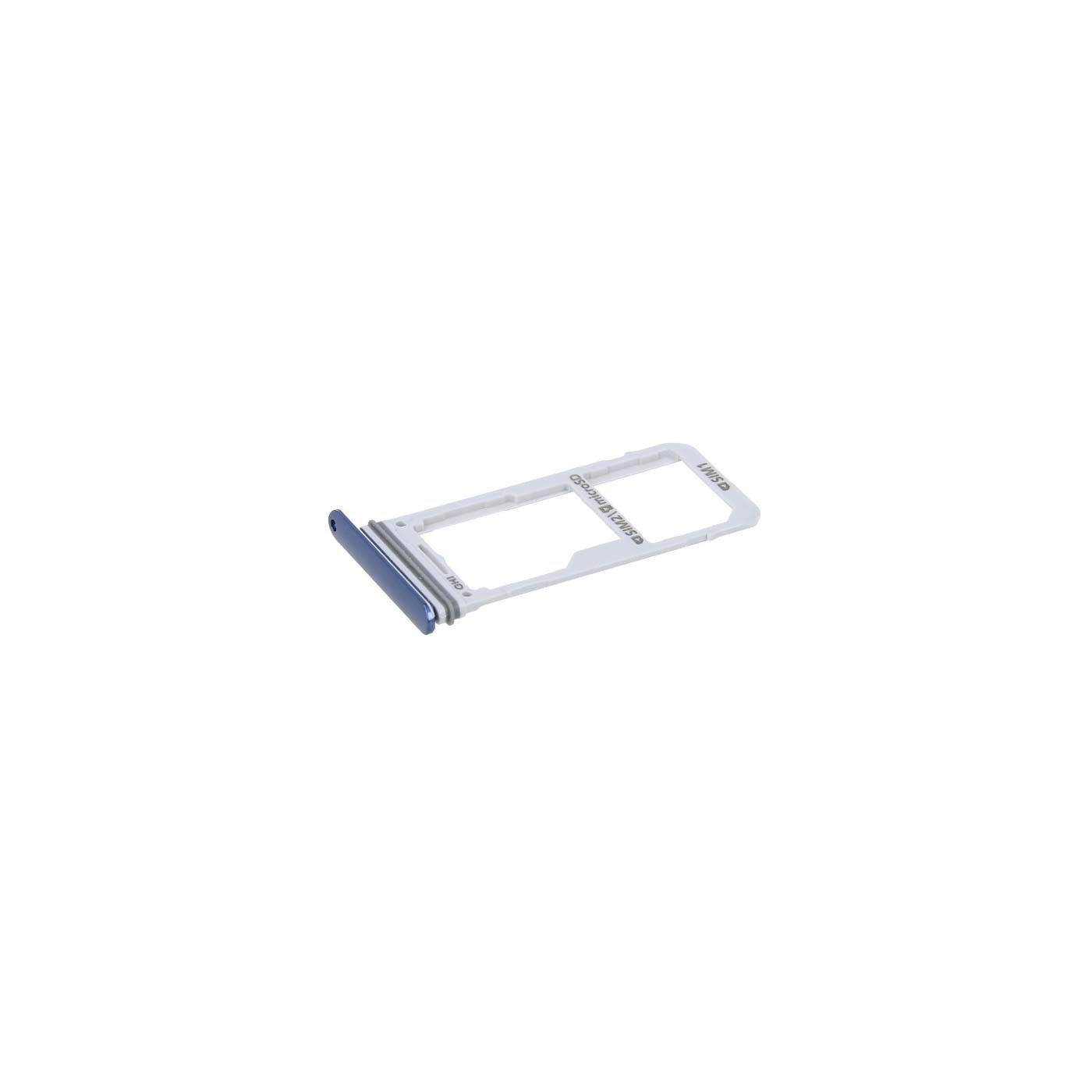 Puerto SIM dual para Galaxy Note 8 N950F Blue Slot Sled