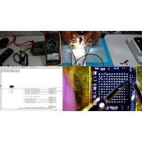 Reparación de la placa base de Iphone 7 - 7 Plus chip de audio IC de reemplazo