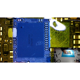 Iphone 5 5S 6 6S 7 motherboard repair 8 IC TOUCH replacement