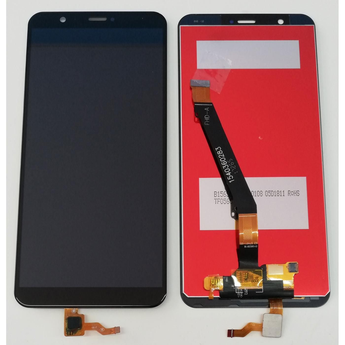 TABLERO DE CRISTAL + PANTALLA LCD Huawei P Smart Black