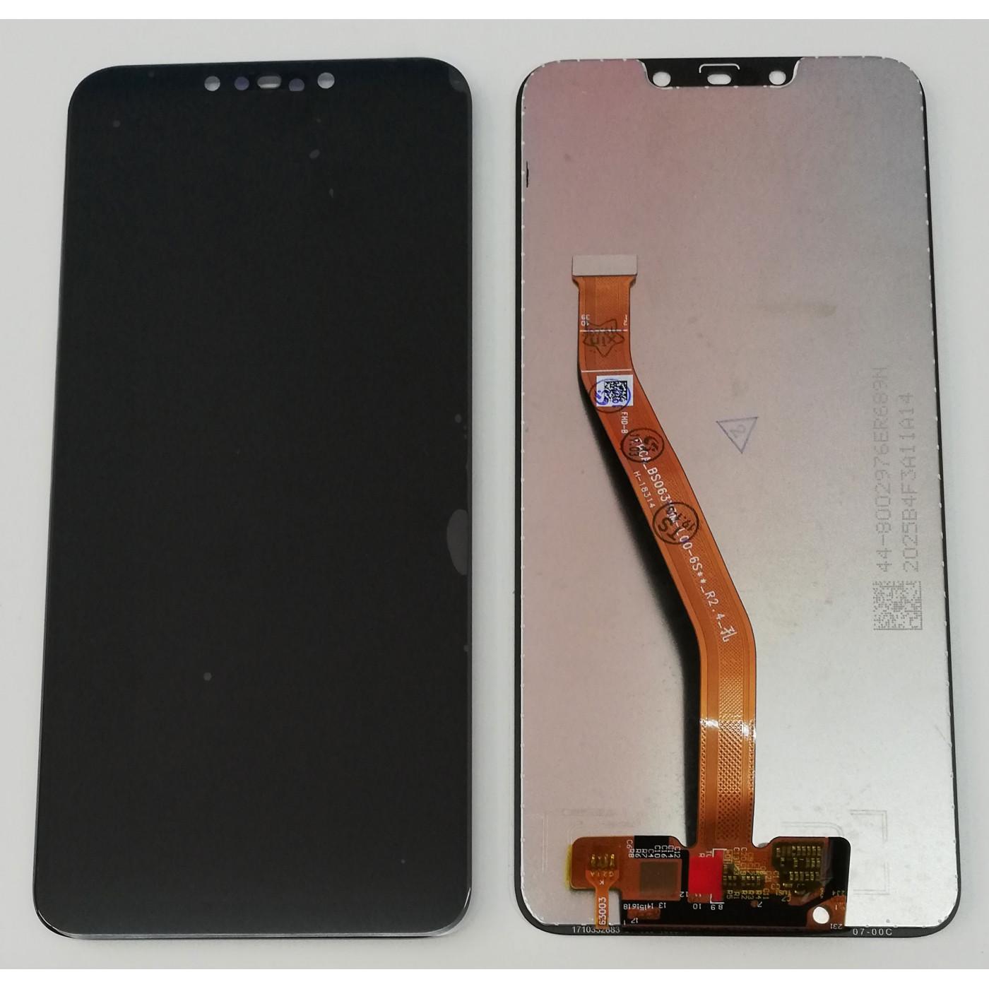 TABLERO DE CRISTAL + PANTALLA LCD Huawei P Smart Plus negro