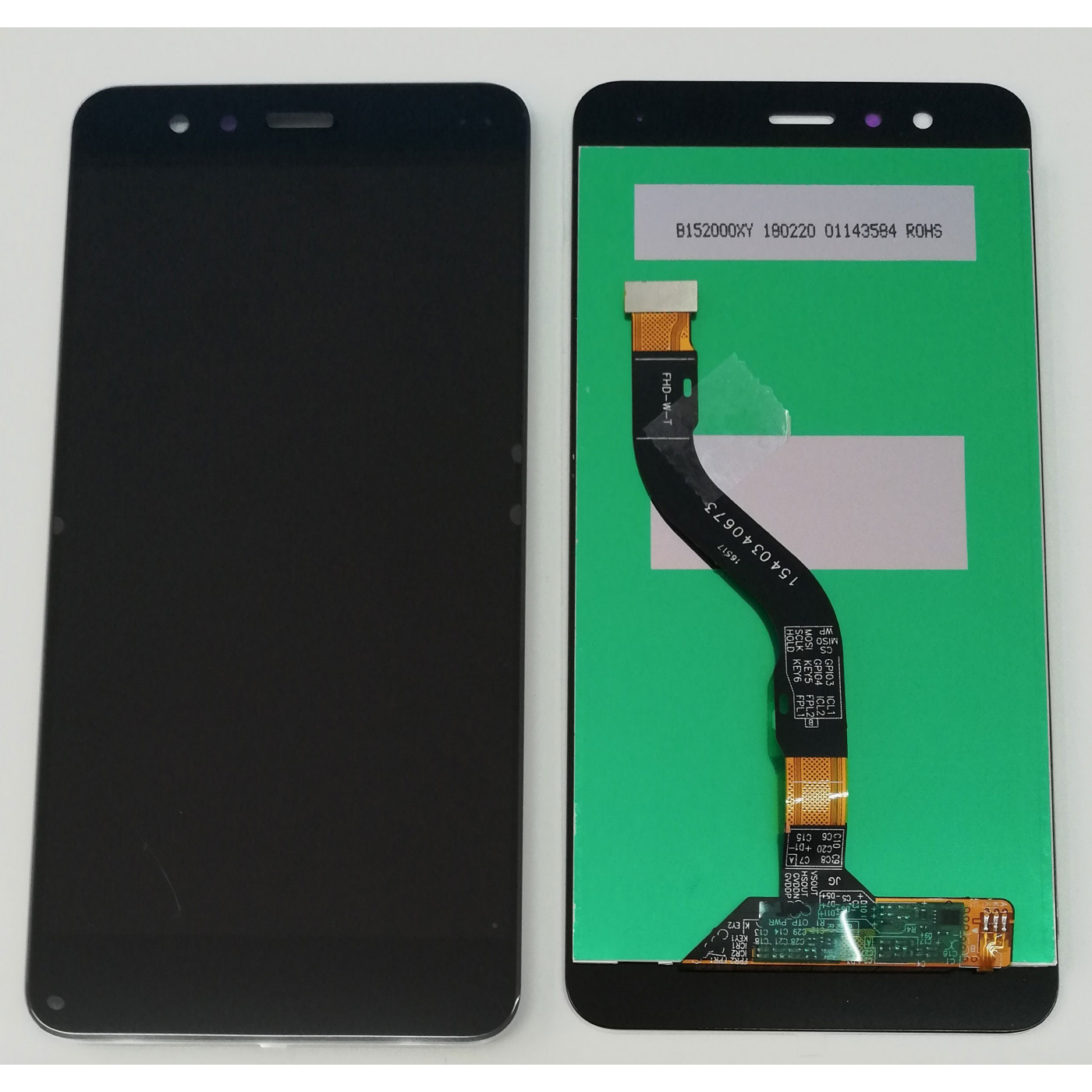 LCD DISPLAY + TOUCH SCREEN GLASS FOR HUAWEI P10 LITE BLACK