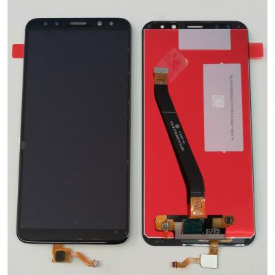 DISPLAY LCD PARI ORIGINALE Per HUAWEI MATE 10 LITE RNE L21 L01 NERO TOUCH SCREEN VETRO