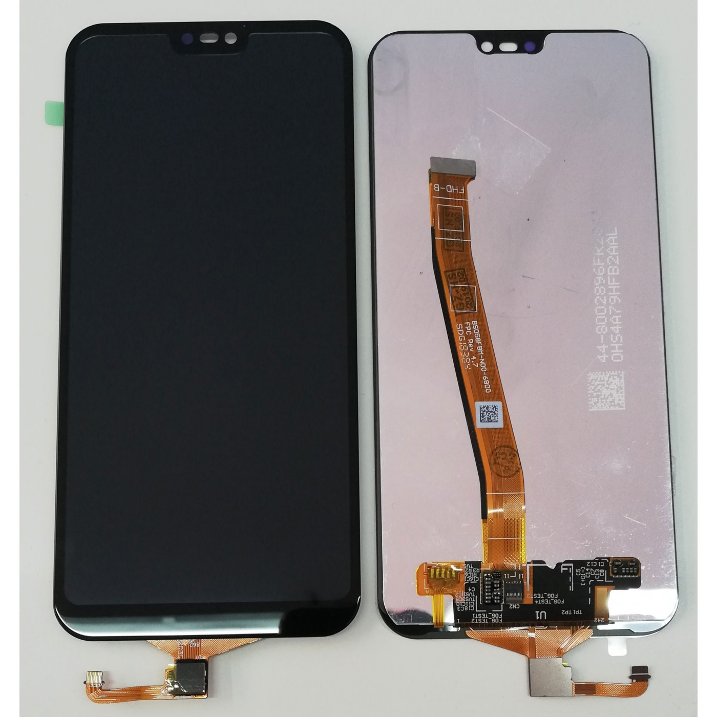 LCD DISPLAY + TOUCH SCREEN GLASS FOR HUAWEI P20 LITE BLACK