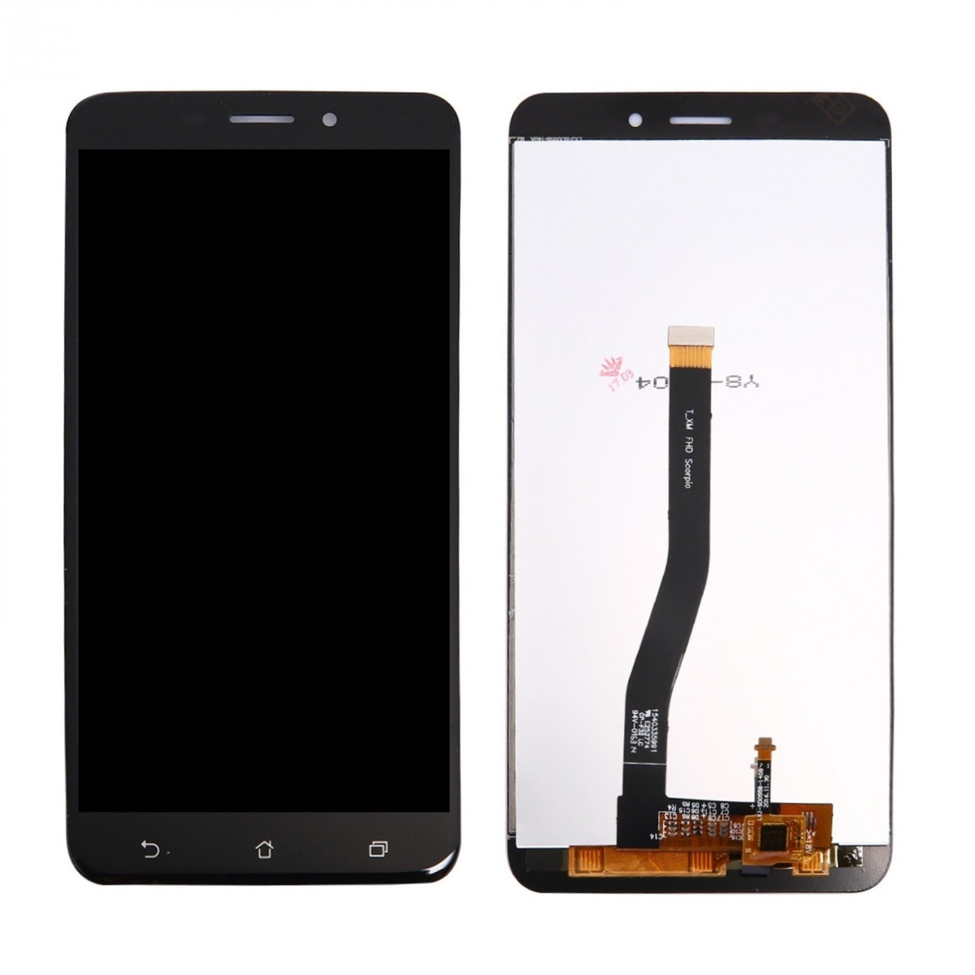 TOUCH SCREEN VETRO + LCD DISPLAY Per Asus Zenfone 3 Laser ZC551KL Z01BS Nero