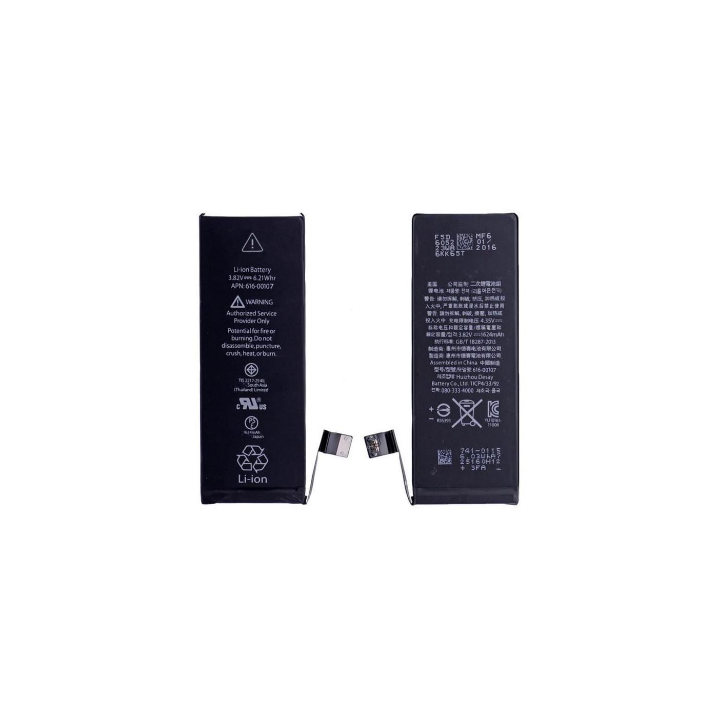 Batteria di ricambio per apple iphone SE 1624 mah