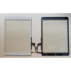 Touch screen for apple ipad 3g wifi air glass adhesive white screen installed