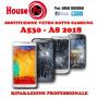 Sostituzione vetro rotto Samsung Galaxy A530F - A8 2018 riparazione display LCD