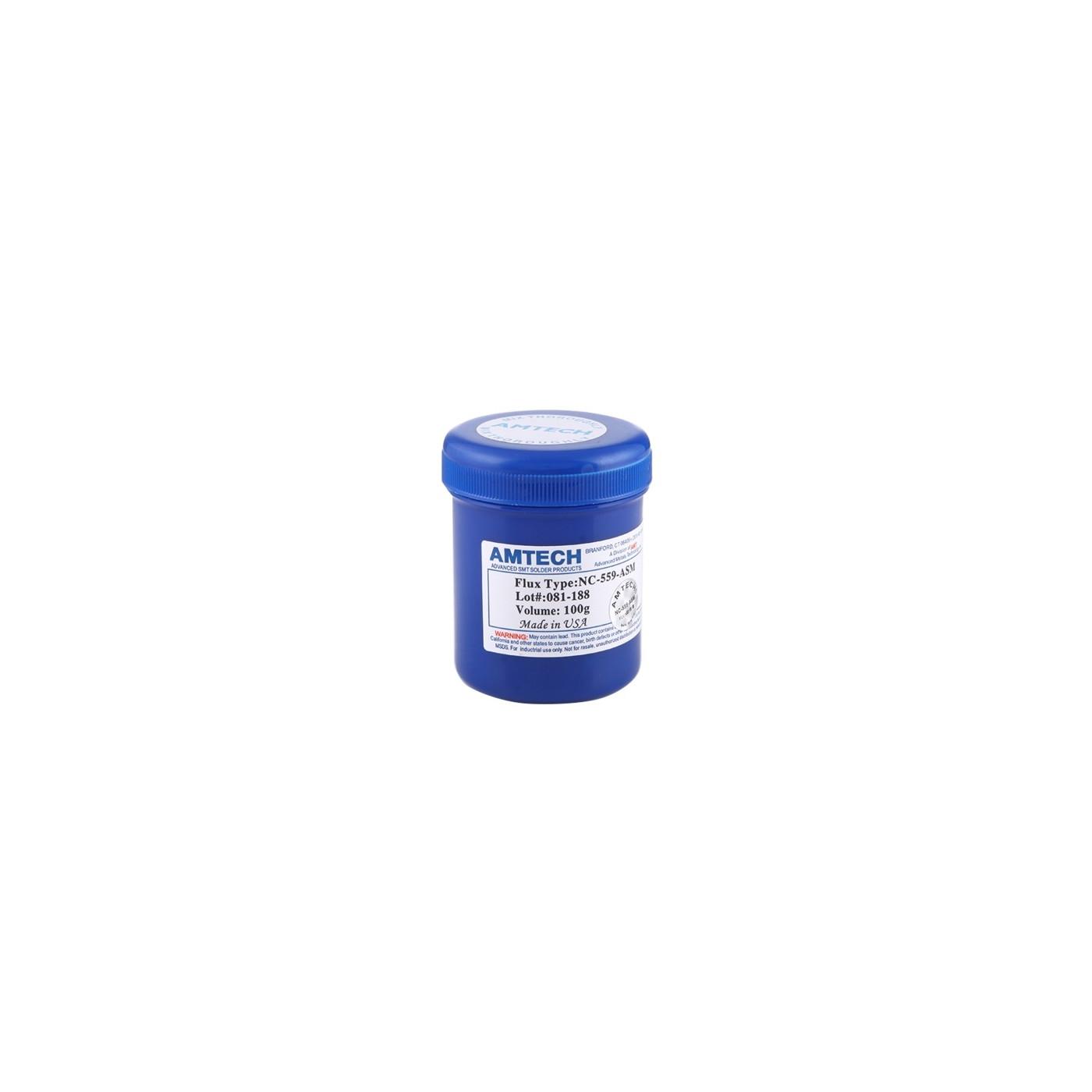 FLUXING FLUX PASTA GEL SALTEN AMTECH RMA-223-UV-SCHWEISSEN