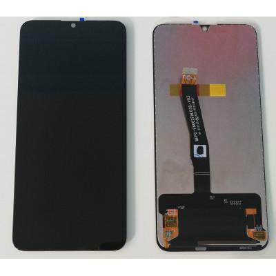 LCD-ANZEIGE für HUAWEI P SMART 2019 POT-LX1 POT-LX2 SCHWARZES BERÜHRUNGSBILDSCHIRMGLAS
