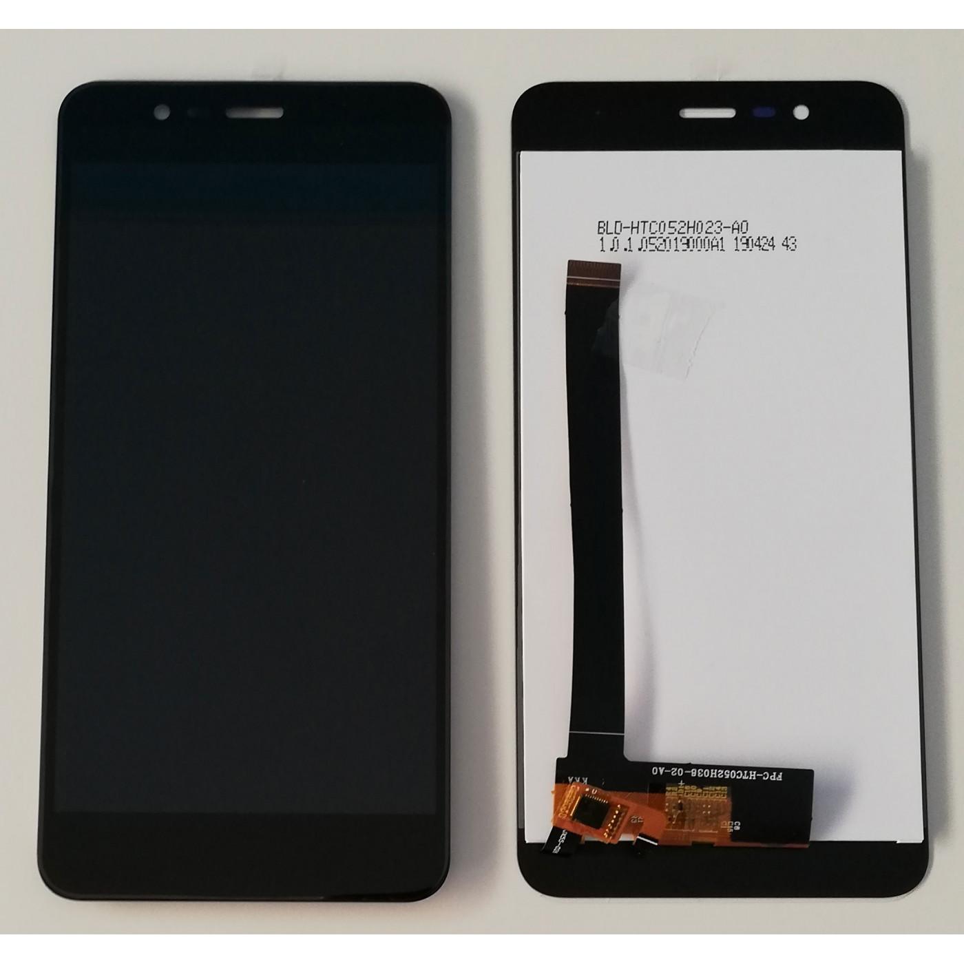 Touchscreen Glas + LCD Display für Asus ZENFONE 3 MAX ZC520TL Schwarz