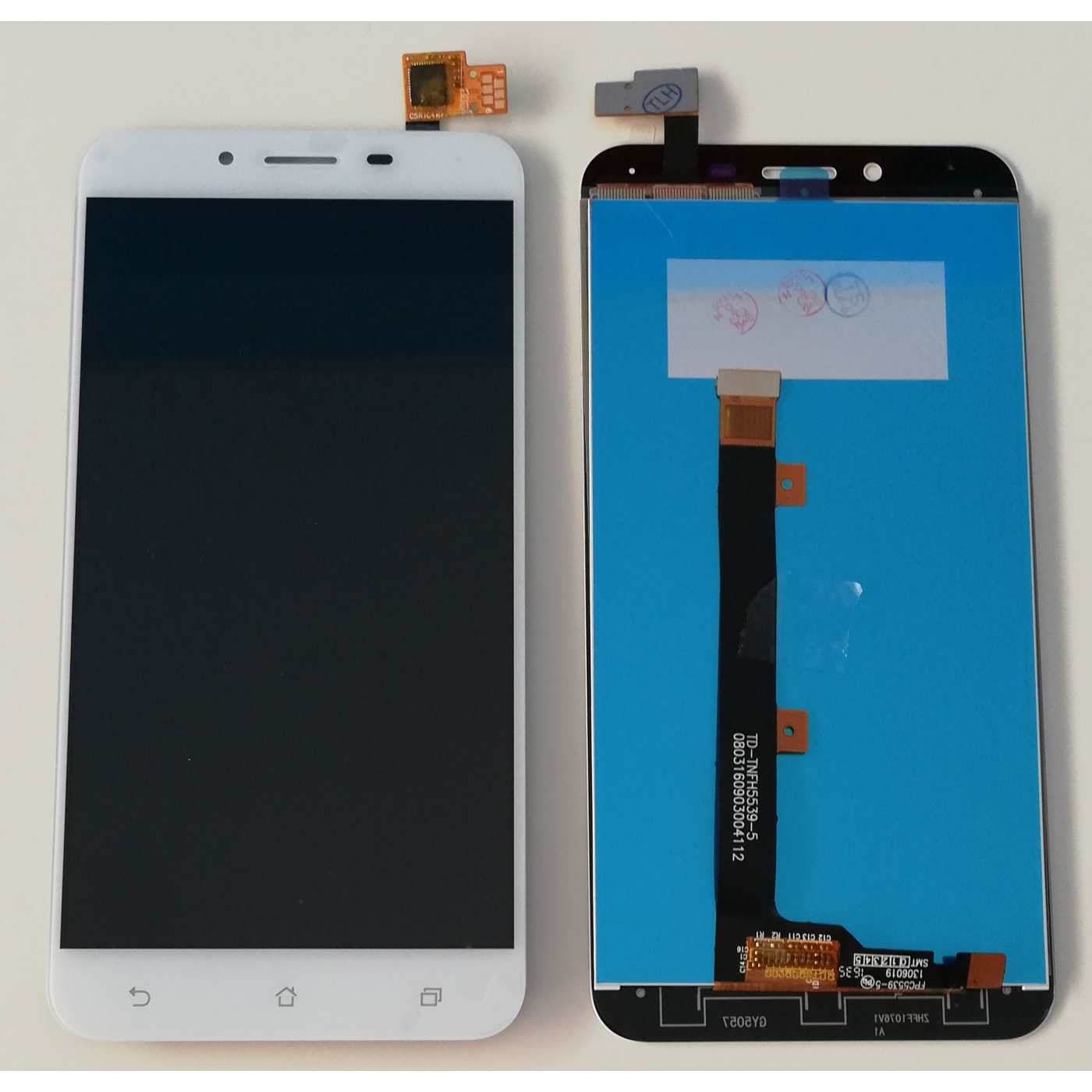 TOUCH SCREEN GLASS + LCD DISPLAY For Asus ZENFONE 3 MAX 5.5 ZC553KL X00DD X00DS WHITE