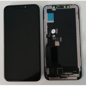 LCD DISPLAY OLED FRAME PER APPLE IPHONE X TOUCH SCREEN VETRO SCHERMO