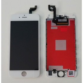 DISPLAY LCD VETRO TOUCH per Apple iPhone 6S BIANCO SCHERMO ORIGINALE KINGWO