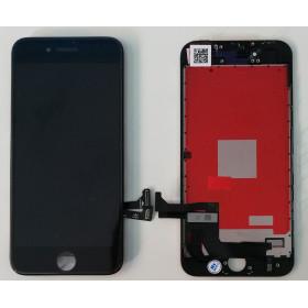DISPLAY LCD VETRO TOUCH per Apple iPhone 8 NERO SCHERMO ORIGINALE KINGWO