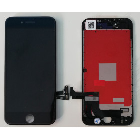 TOUCH GLASS LCD DISPLAY for Apple iPhone 8 BLACK KINGWO ORIGINAL SCREEN