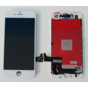 DISPLAY LCD VETRO TOUCH per Apple iPhone 8 BIANCO SCHERMO ORIGINALE KINGWO
