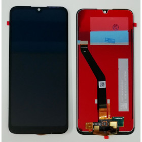 DISPLAY LCD + TOUCH SCREEN VETRO NERO PER HUAWEI Y6 2019 MRD-LX1 LX2