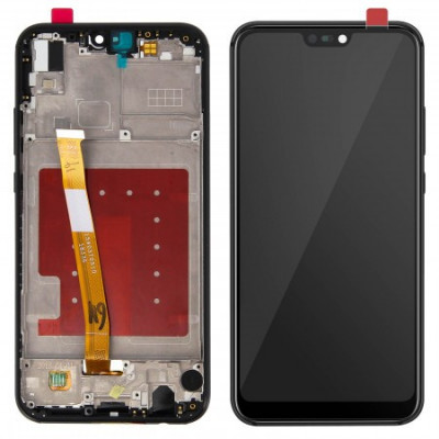 LCD DISPLAY + TOUCH SCREEN FRAME GLASS FOR HUAWEI P20 LITE ANE-LX1 BLACK