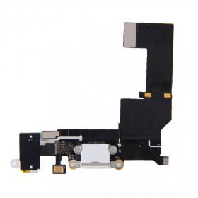Aufladen des iPhone Dock-Anschluss flex SE weiß Mikrofon-Lautsprecher