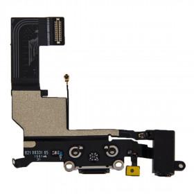 Aufladen des iPhone Dock-Anschluss Flex-SE schwarz Mikrofon-Lautsprecher