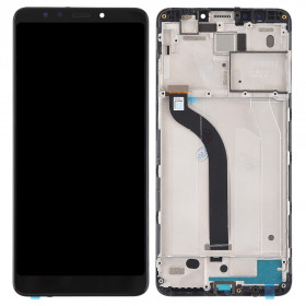 LCD DISPLAY FRAME XIAOMI REDMI 5 MDG1 TOUCH SCREEN VETRO SCHERMO VETRO MONITOR NERO