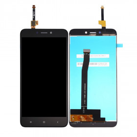 LCD DISPLAY Xiaomi redmi 4X POUR ÉCRAN TACTILE EN VERRE ÉCRAN NOIR