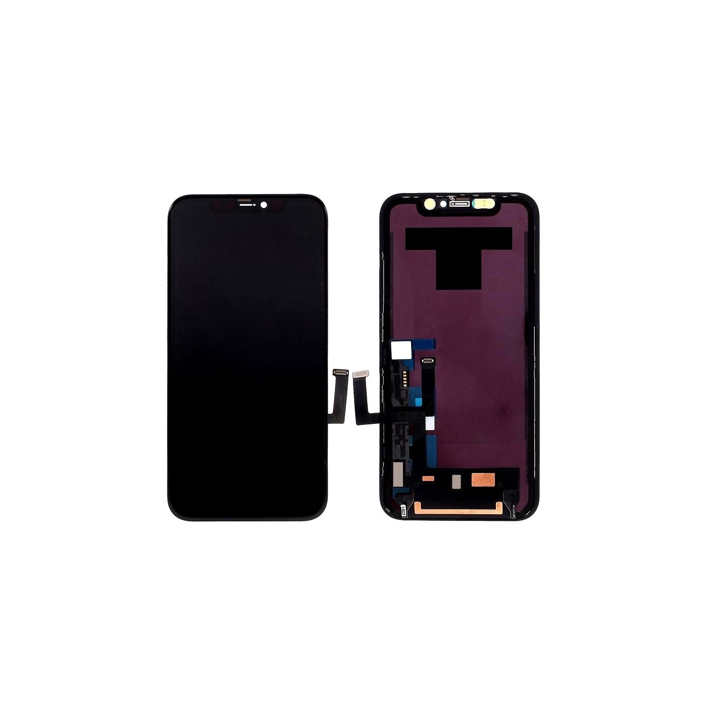 LCD DISPLAY FRAME FOR APPLE IPHONE 11 TOUCH SCREEN GLASS SCREEN