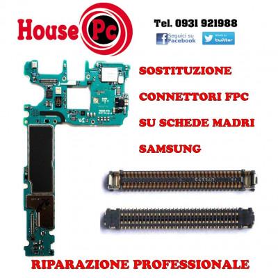 Servizio riparazione connettore rotto FPC Samsung LCD touch batteria fotocamera