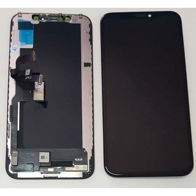 LCD DISPLAY FRAME FOR APPLE IPHONE XS OLED TOUCH SCREEN GLASS SCREEN