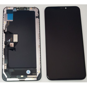 LCD DISPLAY FRAME IPHONE XS MAX OLED QUALITA' COME ORIGINALE TOUCH SCREEN VETRO