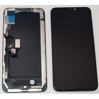 LCD DISPLAY FRAME IPHONE XS MAX OLED QUALITY AS ORIGINAL TOUCH SCREEN GLASS