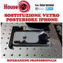 Sostituzione vetro posteriore iphone 8 PLUS X XS XR XS MAX 11 PRO 11 PRO MAX