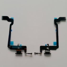 CONNECTEUR DE CHARGE Pour Apple iPhone XS BLACK Flat Dock