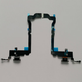 CONNECTEUR DE CHARGE Pour Apple iPhone XS MAX BLACK Flat Dock