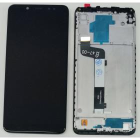 DISPLAY MARCO LCD XIAOMI REDMI NOTE 5 M1803E7SG PANTALLA TÁCTIL NEGRO VIDRIO