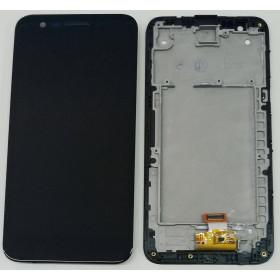 ÉCRAN LCD + CADRE LG K10 2017 M250 M250N ÉCRAN TACTILE